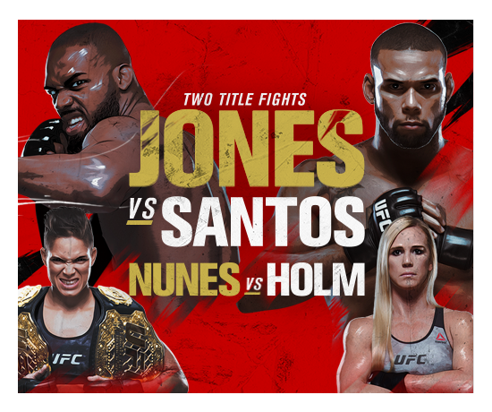 Catch Every Moment of UFC 239